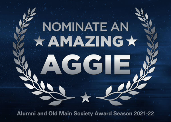 Nominate an Amazing Aggie!