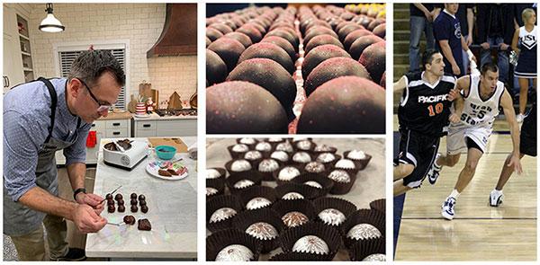 Alumni Chocolate Dunking with John Neil
