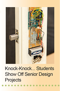 Knock-Knock... Students Show Off Sensor Design Projects