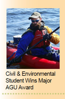Civil & Environment Student Wins Major AGU Award