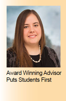 Award Winning Advisor Puts Students First