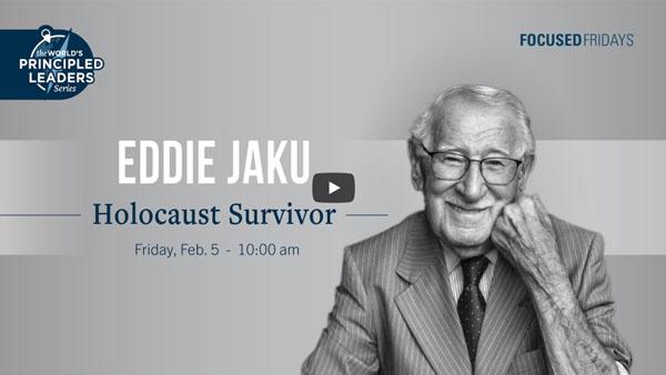 Principled Leader Series: Eddie Jaku