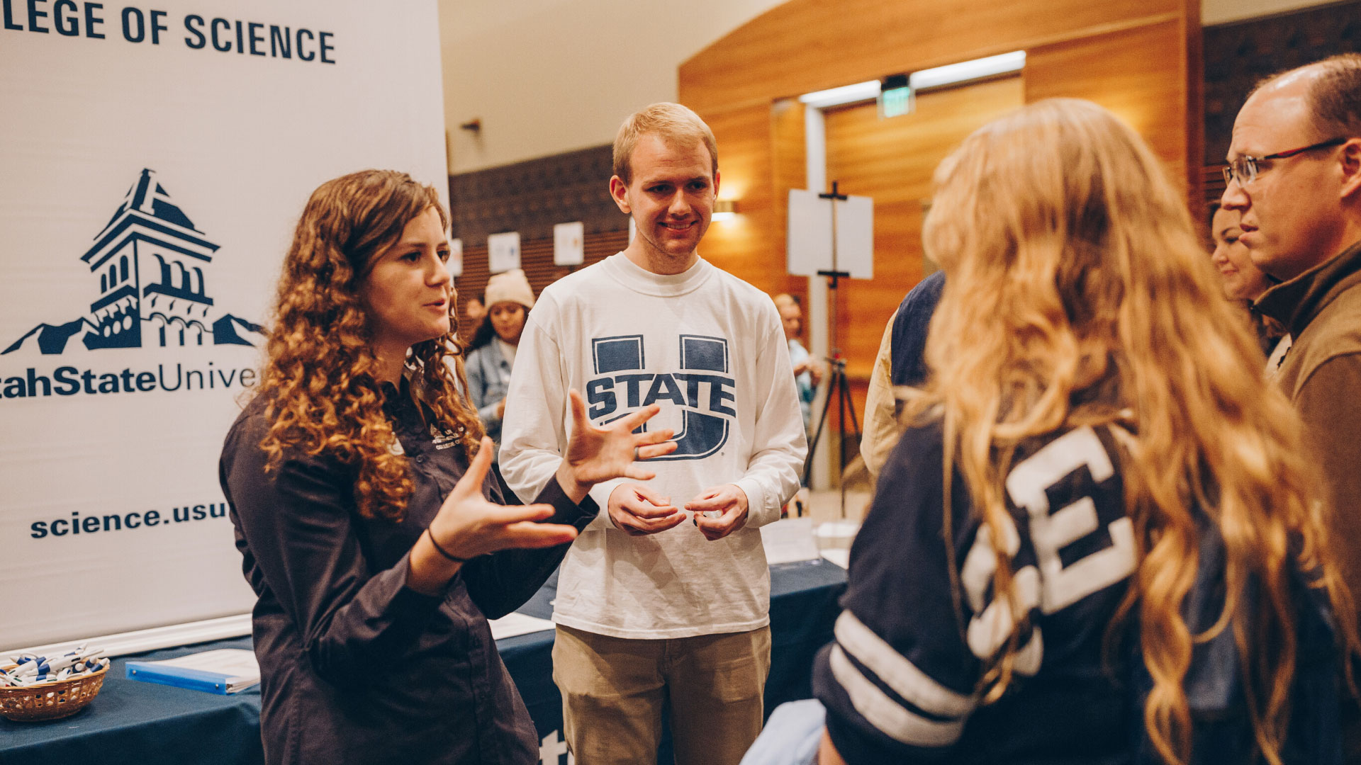 USU Admissions Wraps Up Utah's Largest Open Houses with 2,771 in Total Attendance