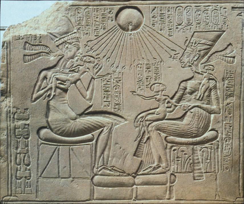 Nefertiti And Akhenaten Relationship