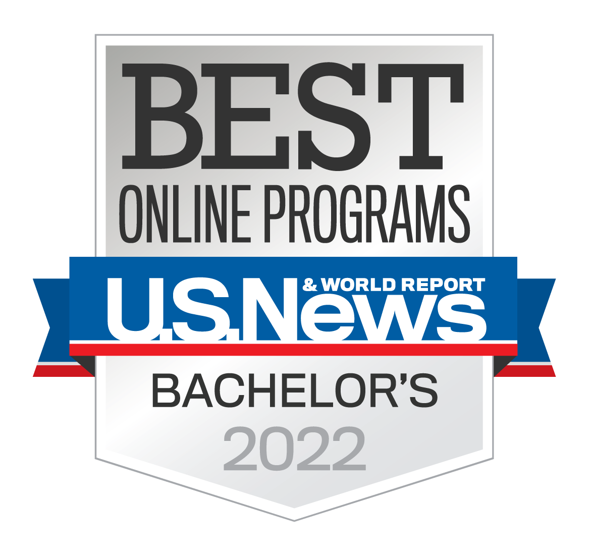 Voted Best Online Bachelor's Programs 2021 US News and Word Report