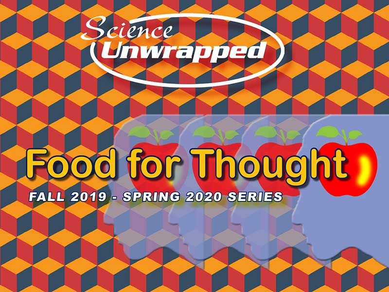 Science Unwrapped 'Food for Thought' logo