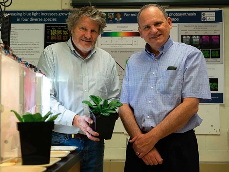 USU scientists Bruce Bugbee and Lance Seefeldt