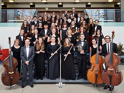 members of USU's Symphony Orchestra