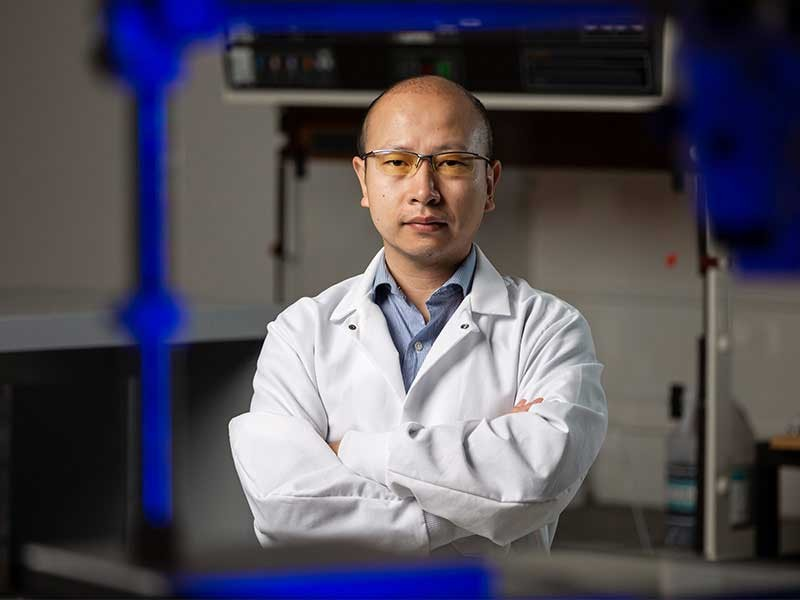 Biological engineering faculty Yu Huang