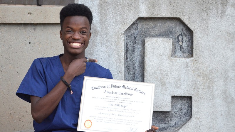 Will Sintyl attended the Congress of Future Medical Leaders.