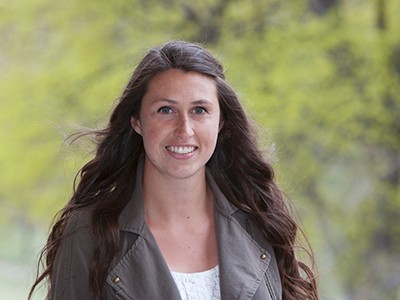 "USU student Kathryn ""Katie"" Sweet, a 2015 Goldwater Scholar"