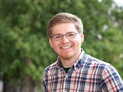 2016 USU Goldwater Research Fellow Benjamin Lovelady