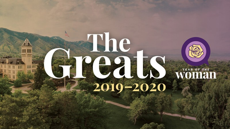 The Greats 2019-2020, Utah State University publication cover.