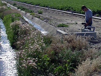 an irrigation system