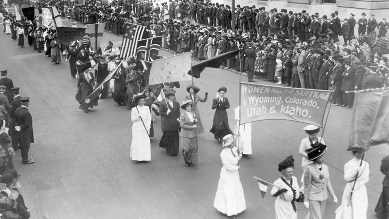 Usu Reflects On The 1913 Women U0026 39 S Suffrage Parade