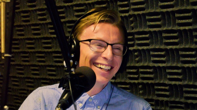 USU student Timothy Light hosts the podcast, DEBUNKED.