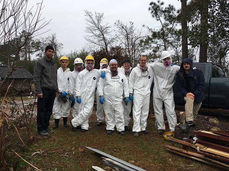 Utah Conservation Corps in North Carolina