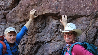 Geologists in Grand Canyon