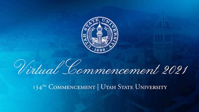Graphic: Virtual Commencement 2021, 134th Commencement