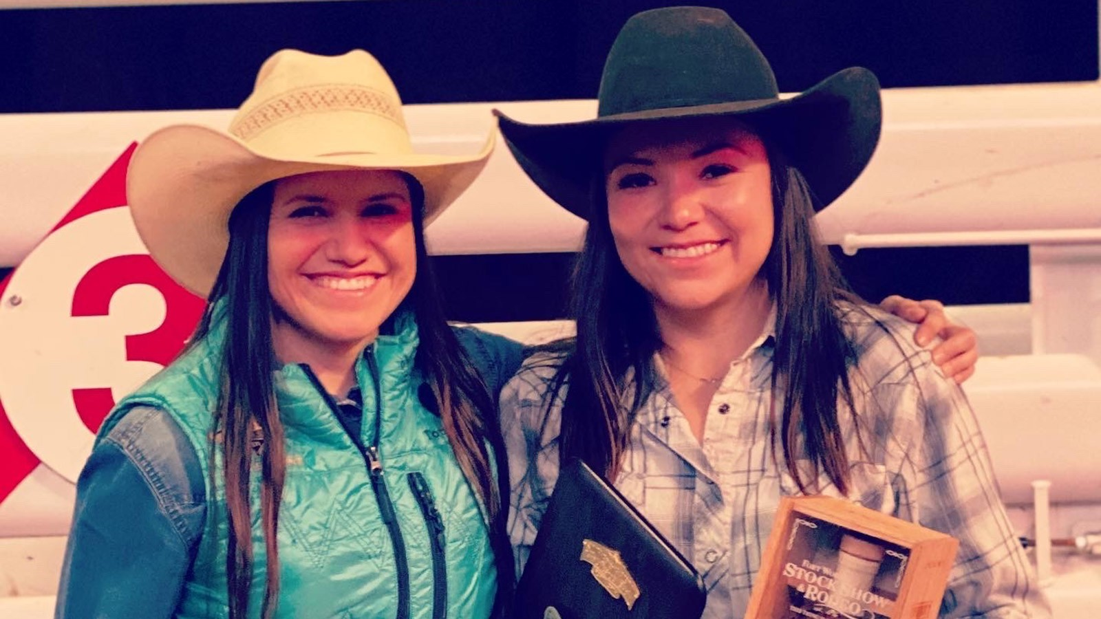 USU alumna Cassie Bahe (right) and her sister, Anna.