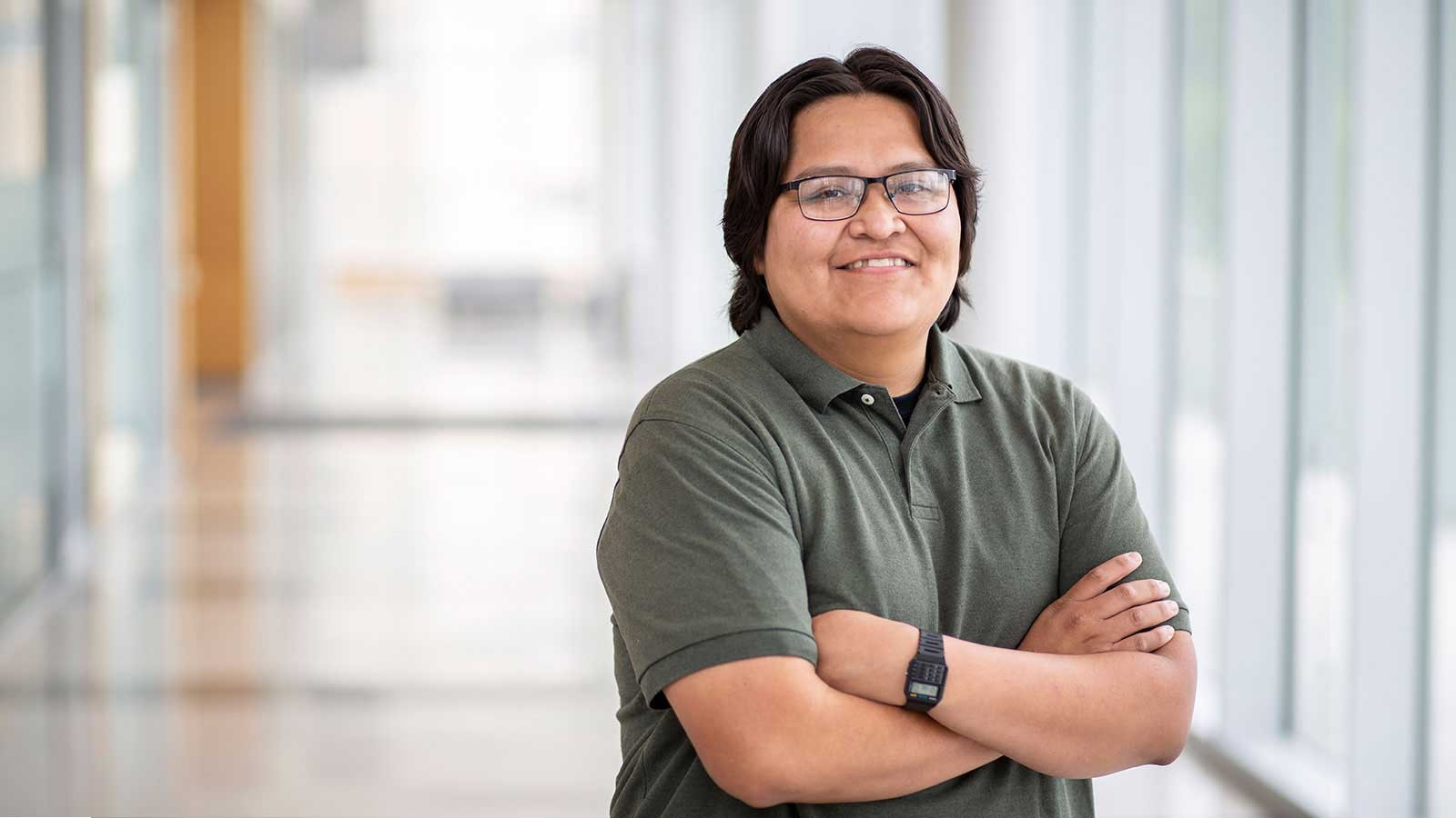 Native American Engineering Student Featured in Winds of Change