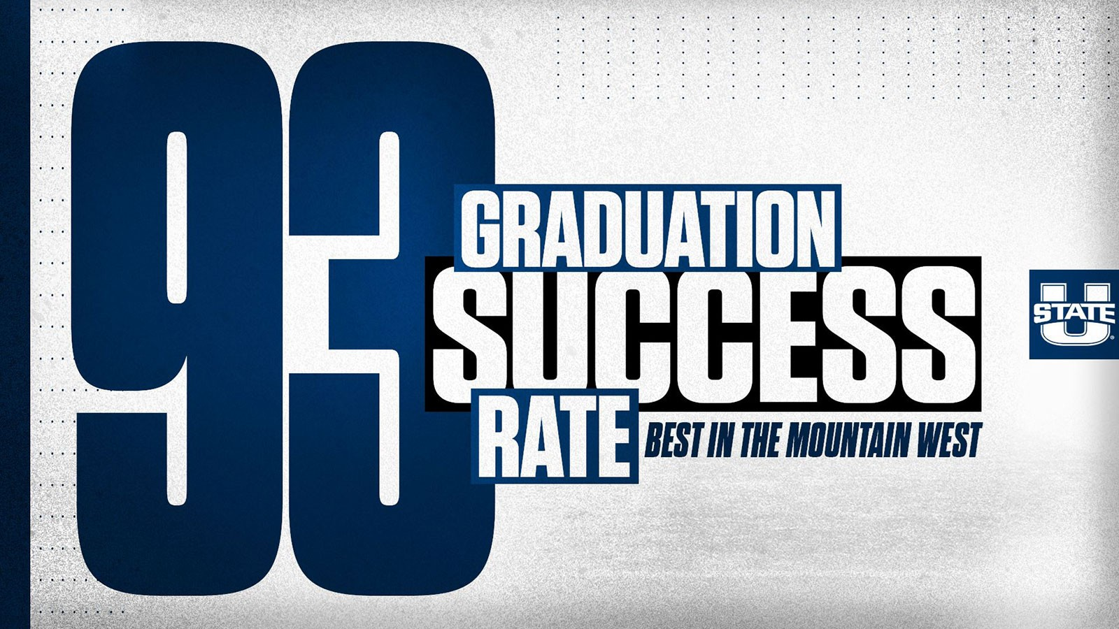Words: Best in the Mountain West 93% Graduation Success Rate.