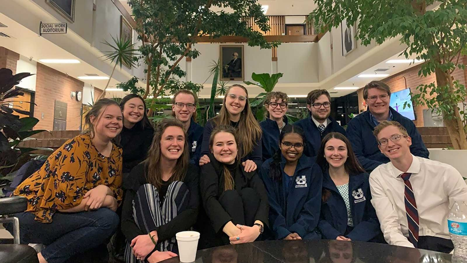 USU Speech and Debate Team Earns Third Place at Tournament