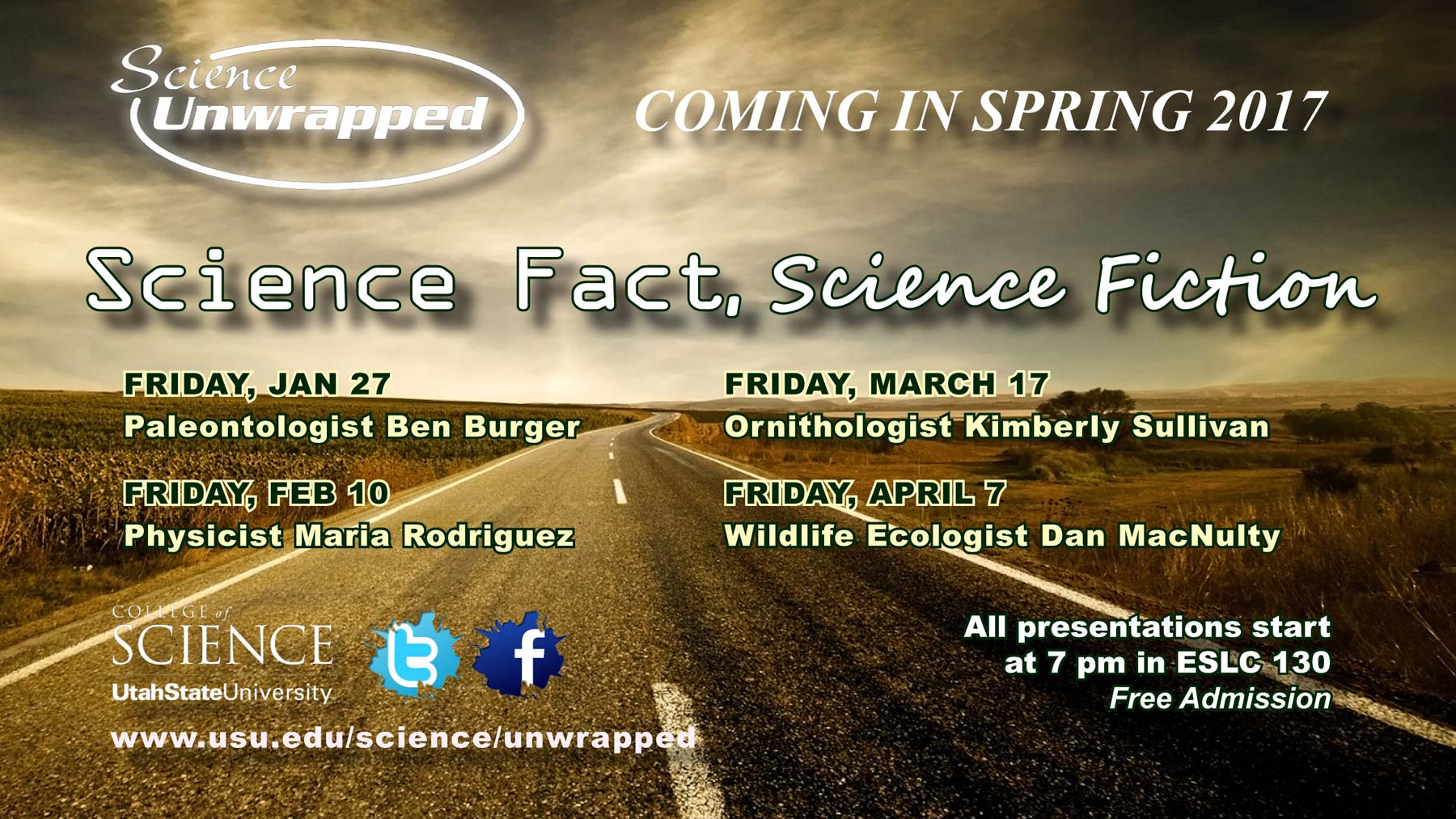 Science Unwrapped Spring 2017